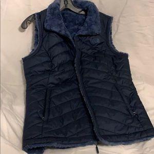 North Face Navy Blue Vest